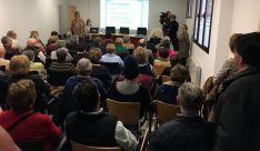 Una imagen del encuentro este martes en La Presentación./Ayto.