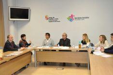 Reunión técnicos en la Consejería de Familia e Igualdad de Oportunidades . Junta de Castilla y León.