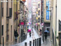 Mal tiempo en la capital soriana. Soria Noticias.