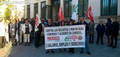 Una movilización sindical de empleados de Correos en una imagen de archivo. /SN