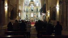 Peregrinación hacia el Monasterio de las HH Clarisas. Diócesis de Osma-Soria.