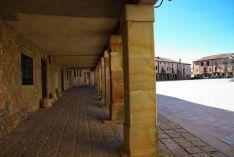 Plaza de Medinaceli. Los Pueblos más Bonitos de España.