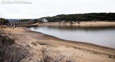 Una imagen del pantano en enero. /SN