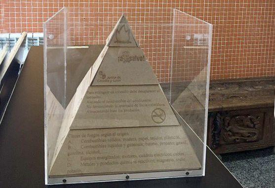 La 'Pirámide de la Prevención', trabajo galardonado del CEIFP por la Junta.