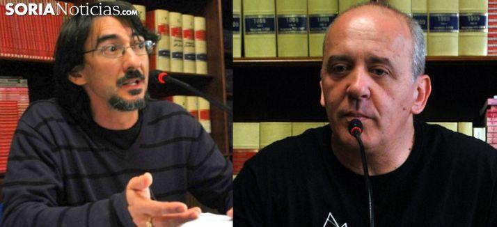 Julio Alberto Romero (izda.) y Enrique García. /SN