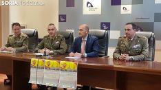 Presentación Jura Bandera Civil en Ágreda