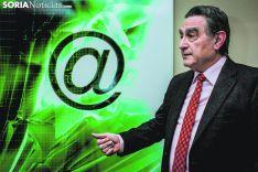La cobertura de internet en toda la provincia, algo fundamental para García.