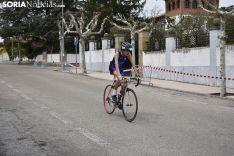 Los duatletas toman las calles de Soria.