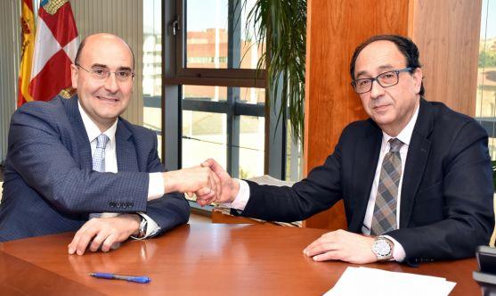 Alonso (izda.) y López. /Jta.
