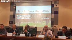 Presentación 'IncendiosZero' en la Diputación de Soria