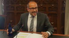 Luis Rey, presidente de la Diputación de Soria