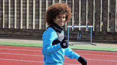 Una imagen del jugador saudí en el anexo de Los Pajaritos. /CDN