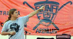 Una actuación en el Boina Fest.