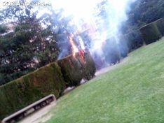 Una imagen del fuego. /Koraima El Habchi Llanos