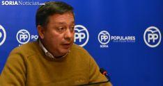 Adolfo Sainz, este jueves en rueda de prensa. /SN