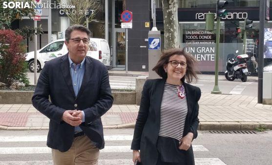 Jesús Ángel Peregrina y Marimar Angulo.
