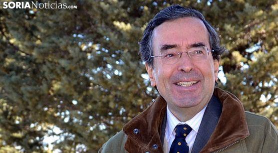 Amalio de Marichalar, presidente del Foro Soria 21. /SN