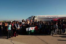 Recepción niños saharauis. Junta de Castilla y León