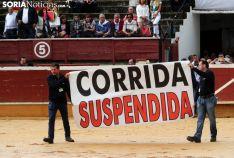 Suspendida la corrida del Sábado Agés. /SN