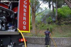 una imagen de la actuación de los bomberos. /SN