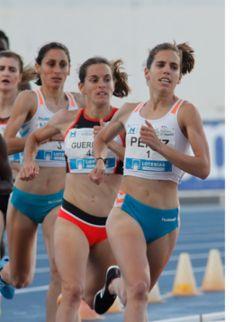Marta Pérez, primera en Huelva.