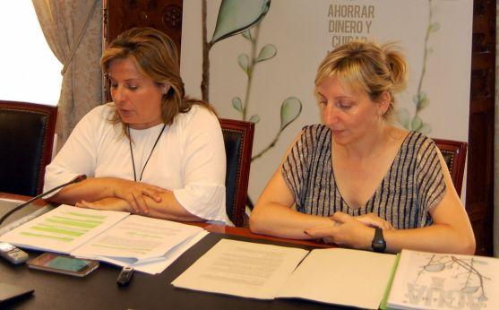 Esther Pérez y Yolanda Santos. /Dip.