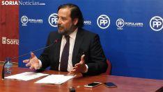 José Manuel Hernando, este jueves en rueda de prensa. /SN