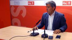Antón, este lunes en rueda informativa. /PSOE