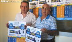 Benito Serrano (izda.) con el concejal Franciso Rodrigo. /SN