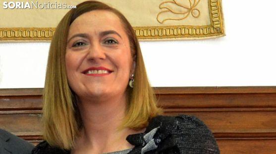 La soriana Virginia Barcones, delegada gubernamental en CyL. /SN