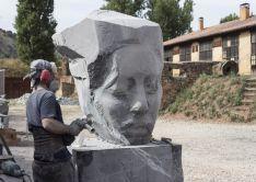 El II Simposium Internacional de Escultura. Ayuntamiento de Soria.