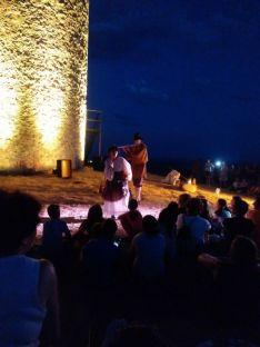 Recopilatorio de la ruta nocturna. Gente de Quintanilla de Tres Barrios.