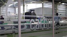 Una planta de producción de la empresa. /Carbures