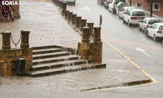 Lluvia torrencial en Soria. SN