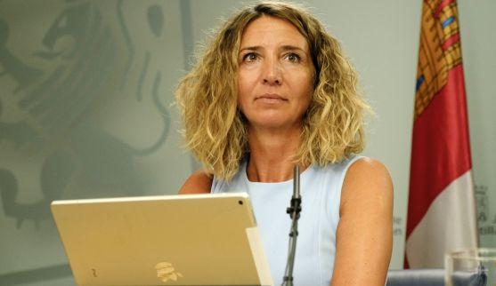 Alicia García, consejera de Familia e Igualdad este jueves. /Jta.