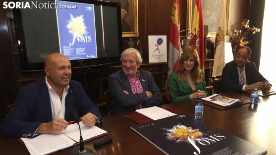 Aceña, Bárez, Sancho y López en la presentación del Otoño 2018 a finales de julio. /SN
