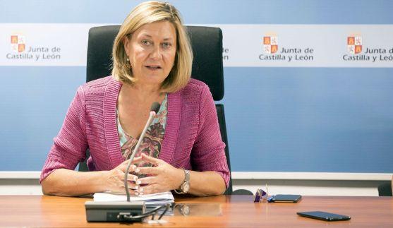 Pilar del Olmo, en rueda informativa tras el Consejo de Política Fiscal y Financiera. /Jta.