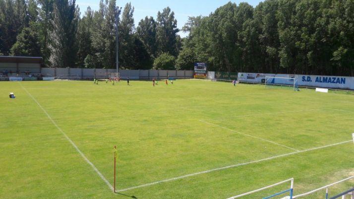 Estadio La Arboleda. SD Almazán