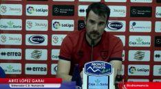 López Garai, en rueda de prensa.