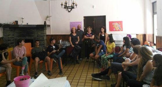 Participantes en el encuentro. /Dip
