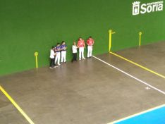 Final del Ciudad de Soria de pelota mano en la Juventud. Cedida