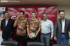 Presentación de la nueva camiseta del Río Duero. SN