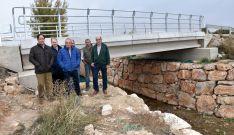 El puente de Los Villares, ya concluido. /Jta.
