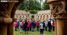 Visitantes en los Arcos de San Juan de Duero en una imagen de archivo. /SN
