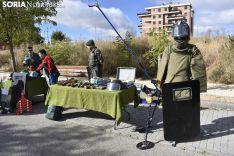 Exposición medios de la Comandancia de Soria.