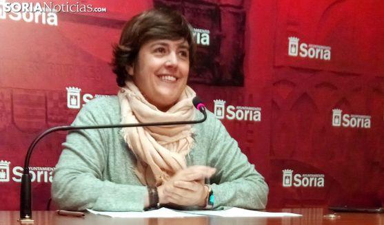 Ana Alegre, responsable de Servicios Locales este lunes. /SN