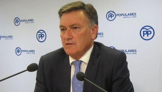 Vázquez, secretario del PP en Castilla y León. /EP