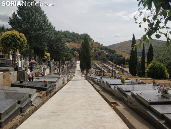 Una imágen de archivo del cementerio de Soria. SN