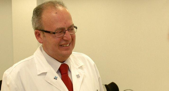 El doctor Enrique Delgado.