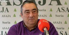Gómez, en la presentación de los premios de ASAJA esta semana. /SN
